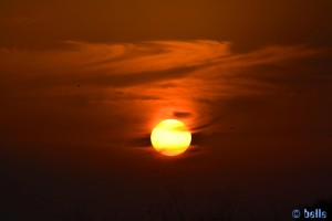 Der Himmel brennt! Sunset at Playa de los Lances Norte - N-340, 11380 Tarifa, Cádiz, Spanien – 15.11.2015 – 18:05:56 Uhr