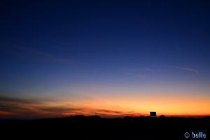Sonnenrot am Playa de los Lances Norte – Tarifa – 18:41:37 pm