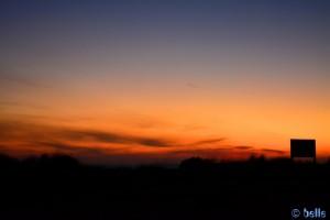 Sonnenrot am Playa de los Lances Norte – Tarifa – 18:41:52 pm