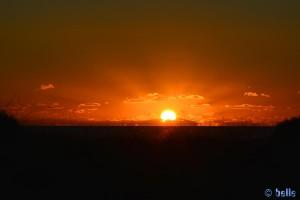 Sunset at Playa de los Lances Norte - Tarifa – Spain – 18:06:57 pm - 116mm