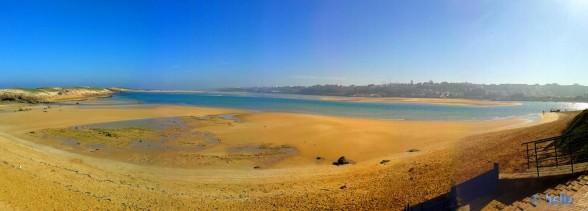 Panorama-Bild - Oualidia, Marokko (SmartPhone)
