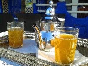 "Tee im Hotel/Restaurant ""Issa Blanca"" - Oualidia, Marokko"