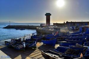 Fischerei-Hafen Imsouane, Marokko