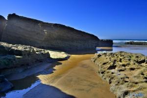 Kleiner Fluss am Plage Tamri – Marokko