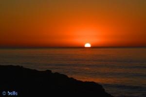 Sunset at Sidi Boulfdail – Marokko