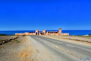 Fischerdorf near Sidi Boulfdail - Unnamed Rd, Marokko