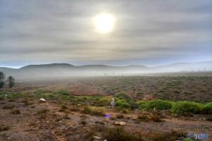 Fog at the Coast of Sidi Boulfdail - Marokko