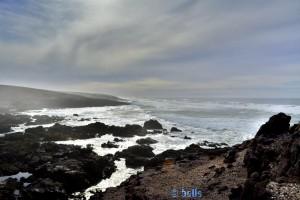 Panorama at the Coast of Sidi Boulfdail - Marokko