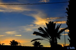 Sonnenrot in Tiznit
