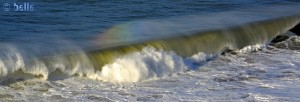 Dancing Rainbow on the Waves - Sidi Ouarzeg, Marokko