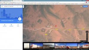 GoogleEarth - Camping Erkounte Park - Mirleft