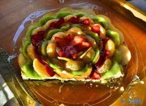Obstkuchen von Marjane – sorry – hier waren schon die Mäuse dran :P