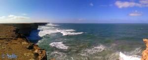 On the Road – 55km unterhalb von El Ouatia (Panorama-Bild mit dem SmartPhone