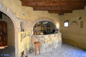 Restaurant in the Camping Villa Bens - Tarfaya - Laâyoune-Sakia el Hamra – Marokko