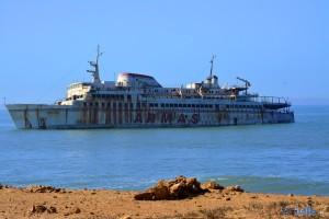 Abandoned Ship near Tarfaya – Marokko