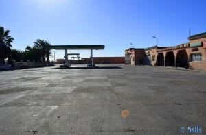 Petrol-Station in Lemsid - Marokko