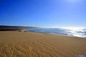 Blick von der Düne – Plage A. - Marokko