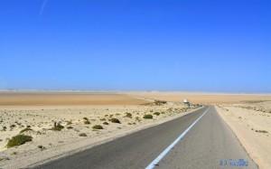 Anfahrt nach Dakhla – Marokko