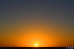 Sunset in Dakhla – Marokko