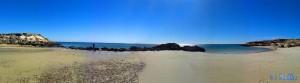 Baffo & Nicol in der kleinen Bucht – Panorama-Bild mit dem SmartPhone