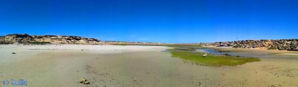 Nicol an der kleinen Bucht - Panorama-Bild mit dem SmartPhone