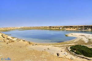 Dakhla – Marokko – noch von oben – ca. 10 Meter über dem Meeresspiegel
