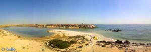Dakhla – Marokko – ca. 10 Meter über dem Meeresspiegel – Panorama-Bild mit dem SmartPhone