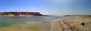 Dakhla – Marokko – Panorama-Bild mit dem SmartPhone