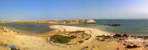 Dakhla – Marokko (Panorama-Bild mit dem SmartPhone)