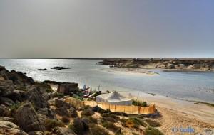 Die kleine Lagune von der anderen Seite – Dakhla – Marokko