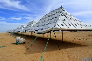 Zelte in Dakhla - Marokko