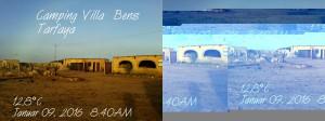 09.01.2016: Originalbild (links) und was bei der WhatsApp-Gruppe angekommen ist (rechts)