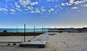 Aussicht vom Camping Touristique Moussofir - Dakhla – Marokko