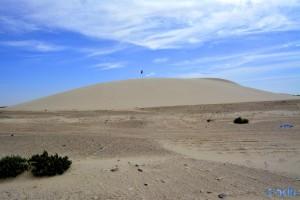 Sehr grosse Sanddüne in Labouirda – Marokko