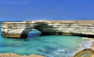 Und noch eine Arkade - Cap Barbas – Marokko