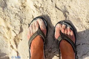 ...und panierte Zehen :P - Cap Barbas – Marokko