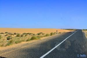 Sand-Düne - On the Road to Aoussard – Marokko