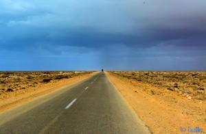 ...dunkel wirds... On the Road – Marokko