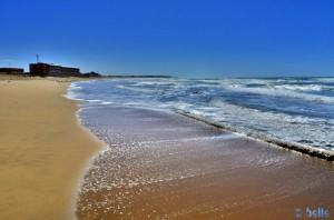 Beach Foum El Oued – Marokko (vom Stellplatz nach links)