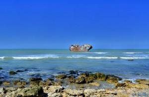 Schiffswrack Que Sera Sera - Porto of Laâyone - El Marsa – Marokko