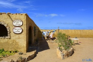 Gross-WaschTag im Camping Villa Bens - Tarfaya – Marokko