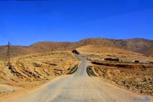 On the Road to Tafraoute – Marokko