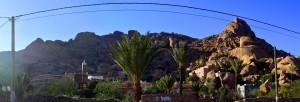 Tafraoute - Cercle de Tafraoute - Souss-Massa - Marokko – 886m