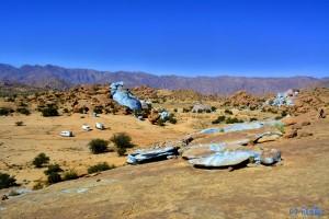 Blue Rocks - Tafraoute – Marokko