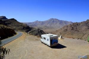 On the Road - Anti Atlas - Marokko - bei 1700m