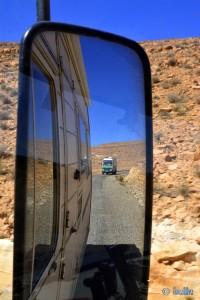 Verfolgungs-Jagd von einem deutschen Polizeiauto - On the Road - Anti Atlas – Marokko