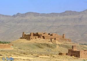 On the Road - N9 - Vallée du Drâa – Marokko