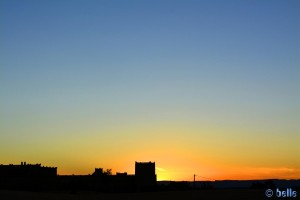 Sunset in Merzouga - Erg Chebbi – Marokko