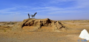 Brunnen? Kurz hinter Erfoud auf der R702 – Marokko