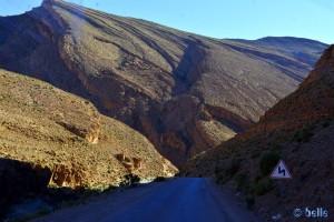 Gorges du Todra - R703, Marokko